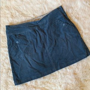 Corduroy Prana mini skirt size 14